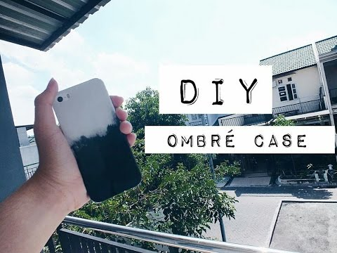 DIY OMBRE CASE FOR IPHONE BLACK AND WHITE I Bahasa Indonesia I Naufal Amjad I