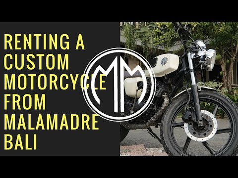Renting a Malamadre motorcycle in Bali | G7x mark ii | Vlog #002