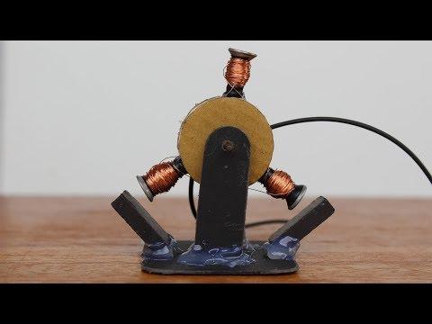 How to Make a DC Motor DIY