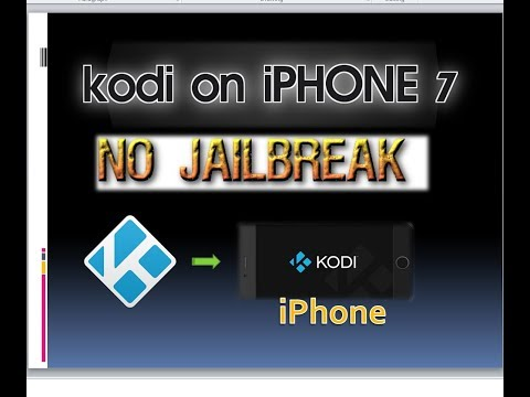 kodi on iphone 7 | KODI Krypton 17 on iPHONE without Jailbreak | Easiest Method