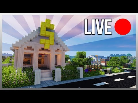 ✔️ EXPANDING MY MINECRAFT TOWN! (Gas Station)