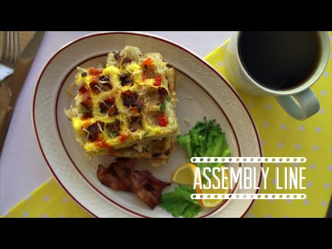 Brekkie Waffle | Assembly Line