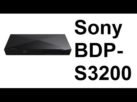 BDP-S3200 Blu-ray/DVD Player Unboxing from Sony