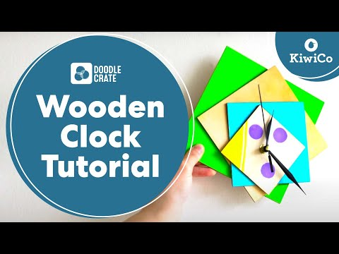 Wooden Clock Tutorial - Doodle Crate Project