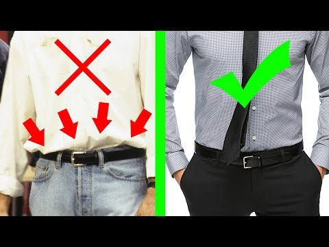 10 Ways Men Are Dressing Wrong!