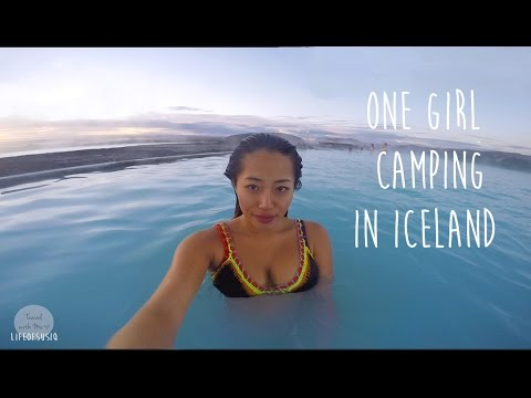 One Girl Camping Around Iceland Ringroad