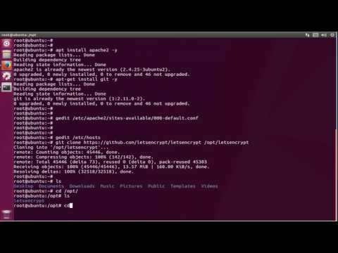 How To install Secure Apache with Let's Encrypt on ubuntu 17.04 zesty zapus