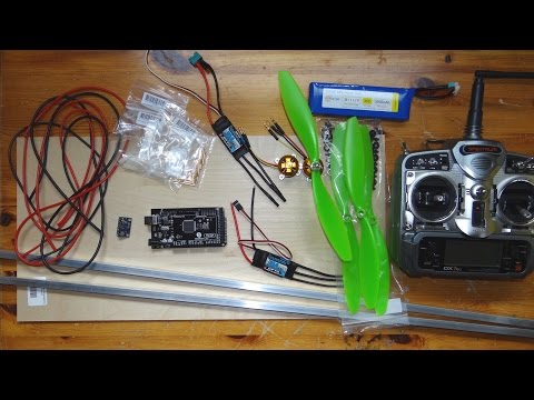 Homemade Quadcopter - part 1: Project Start