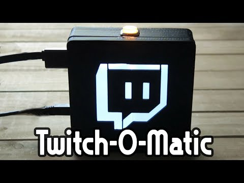 Twitch-O-Matic: Raspberry Pi Twitch Streaming Device - Weekend Hacker #1804