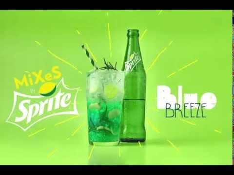 Sprite Blue Breeze Recipe #Spritemixes #متستناش_على_عطشك
