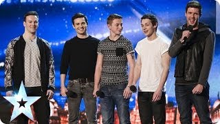 Collabro sing Stars from Les Misérables | Britain