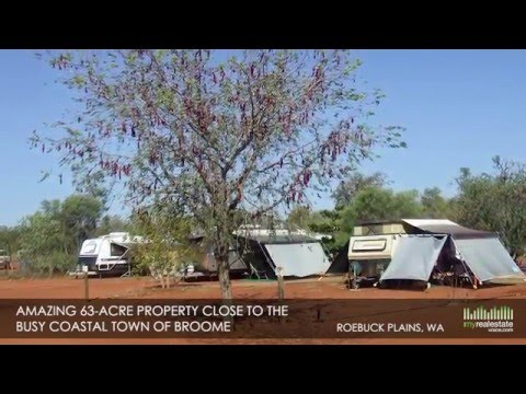 63 Acres Zoned Horticulture with Tourism + Caravans + Lodge Business for Sale - Broome, WA
