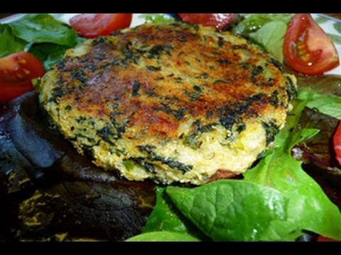 Spinach and Potato Cakes