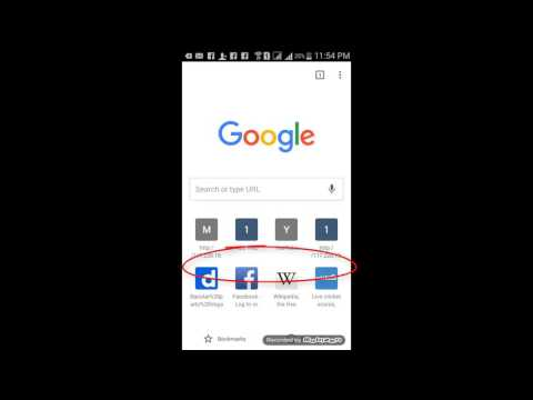 How To Delete Search History In Android Phone Browser Or Google Chrome