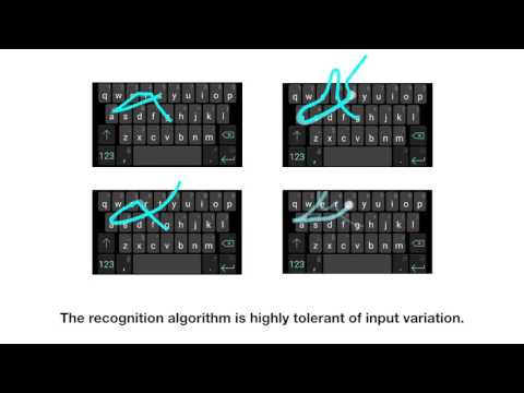 Expressive Keyboards: Enriching Gesture-Typing on Mobile Devices