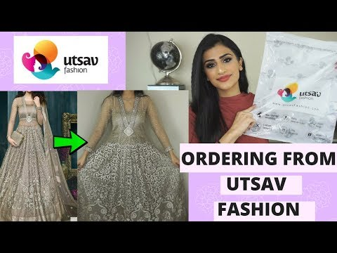 I SPENT $300 ON INDIAN CLOTHES FROM UTSAVFASHION.COM OMG