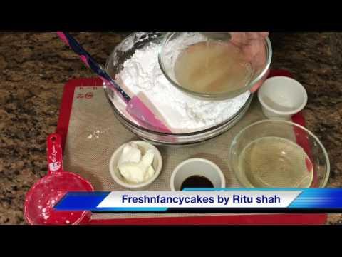 Cake Fondant Making in Hindi