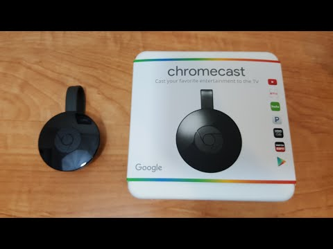 New Chromecast Unboxing and Setup!