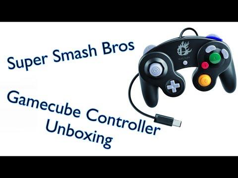 Super Smash Bros Edition Gamecube Controller Unboxing
