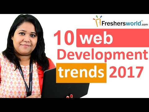 Top 10 web development trends in 2017 – Real time notification, Top Trends for Software Engineers