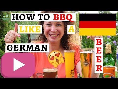 GERMAN GRILLPARTY: Part 4 - Drinks | German Beer and German Shandy