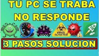 PC LENTA? SE TRABA? NO RESPONDE?  ELIMINA LOS VIRUS DE LA PC MUY FACIL 2019