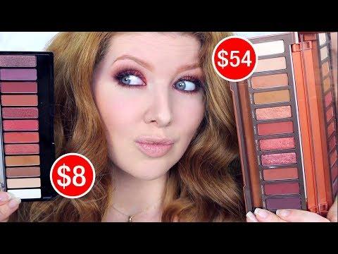 Dupes for Highend Makeup | $8 UD Naked Heat DUPE