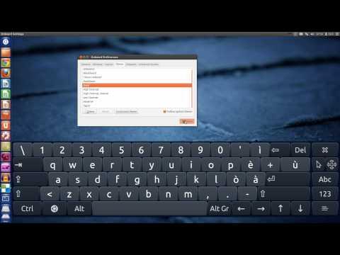 Screen Keyboard on Ubuntu Precise Pangolin 12.04