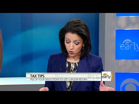The Early Show - Tax tips: Get more money back