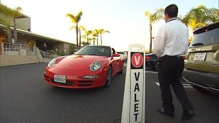 Watch Valet Drivers Hand Off Cars To People Who Don