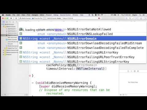 Webservice Call Using NSURLSession
