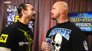 "Raw: CM Punk confronts ""Stone Cold"" Steve Austin"