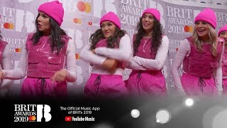 Download Learning to dance with Little Mix's dancers | The BRIT Awards 2019 Video