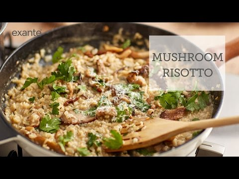 How to Make a Healthy Mushroom Risotto