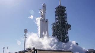 SpaceX Falcon Heavy Static Fire Test | Video