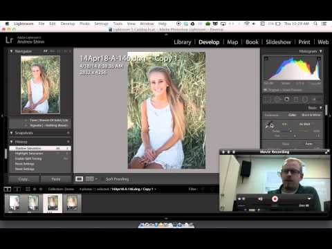 How to batch edit White Balance in Lightroom 5
