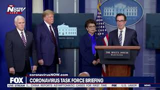 LONGEST BRIEFING YET: President Trump & WH Task Force FULL Thurs briefing