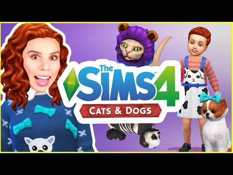 The Sims 4 Cats & Dogs! | CAS Review