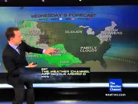 Weather Channel Promotes Its Android App With Onscreen QR Codes
