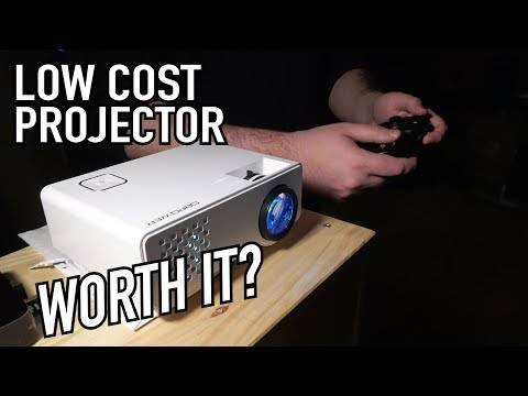 Are Low Cost Projectors Worth It? | DBPower RD-810