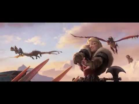 HOW TO TRAIN YOUR DRAGON 2     Storm Fly Fetch   Clip