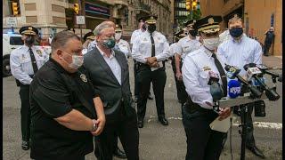 A South Philly police lieutenant was shot inside a CVS