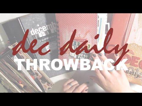 December Daily Throwback Thursday