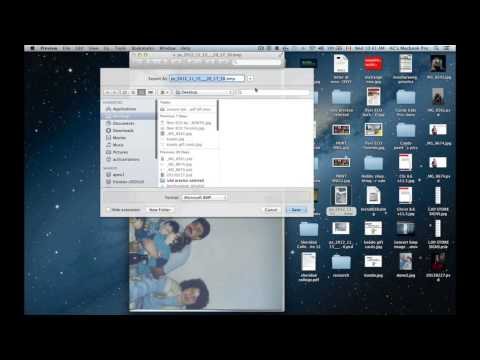 convert BMP image file to JPG using Preview on Mac for free
