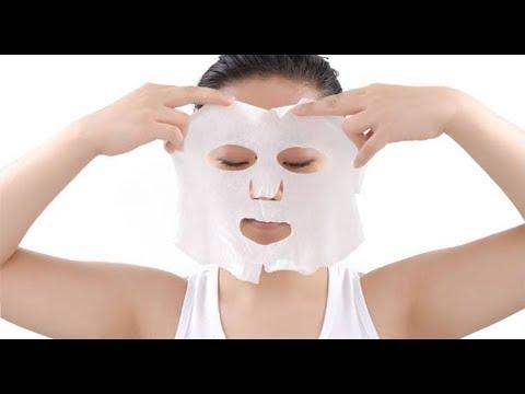 DIY Korean Sheet Mask   Get Healthy Flawless Glowing Hydrated Skin