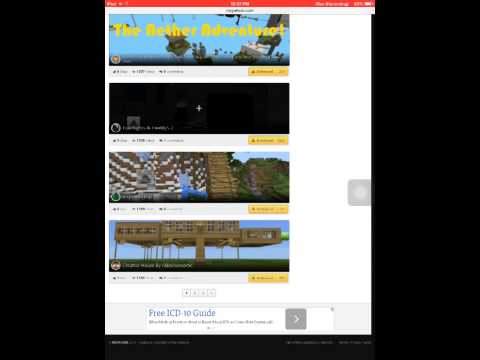 Minecraft pe how to download maps no jailbreak and computer