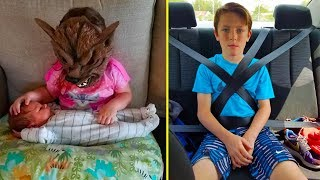 Hilarious Photos That Prove Siblings Are The Biggest Assholes Ever