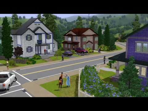 The Sims 3 console trailer