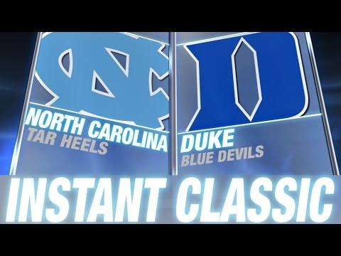 Instant Classic: North Carolina vs Duke Full Game   February 18, 2015