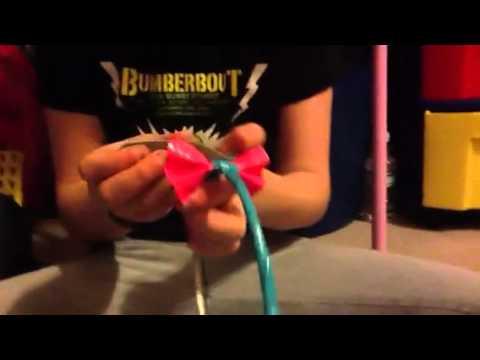 How to make a Ducktape headband